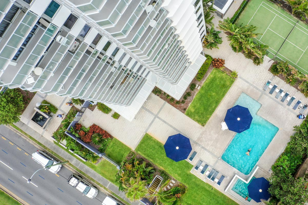 Boulevard Towers Broadbeach accommodation pool