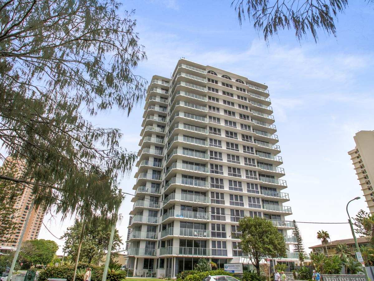 Boulevard Towers Broadbeach accommodation