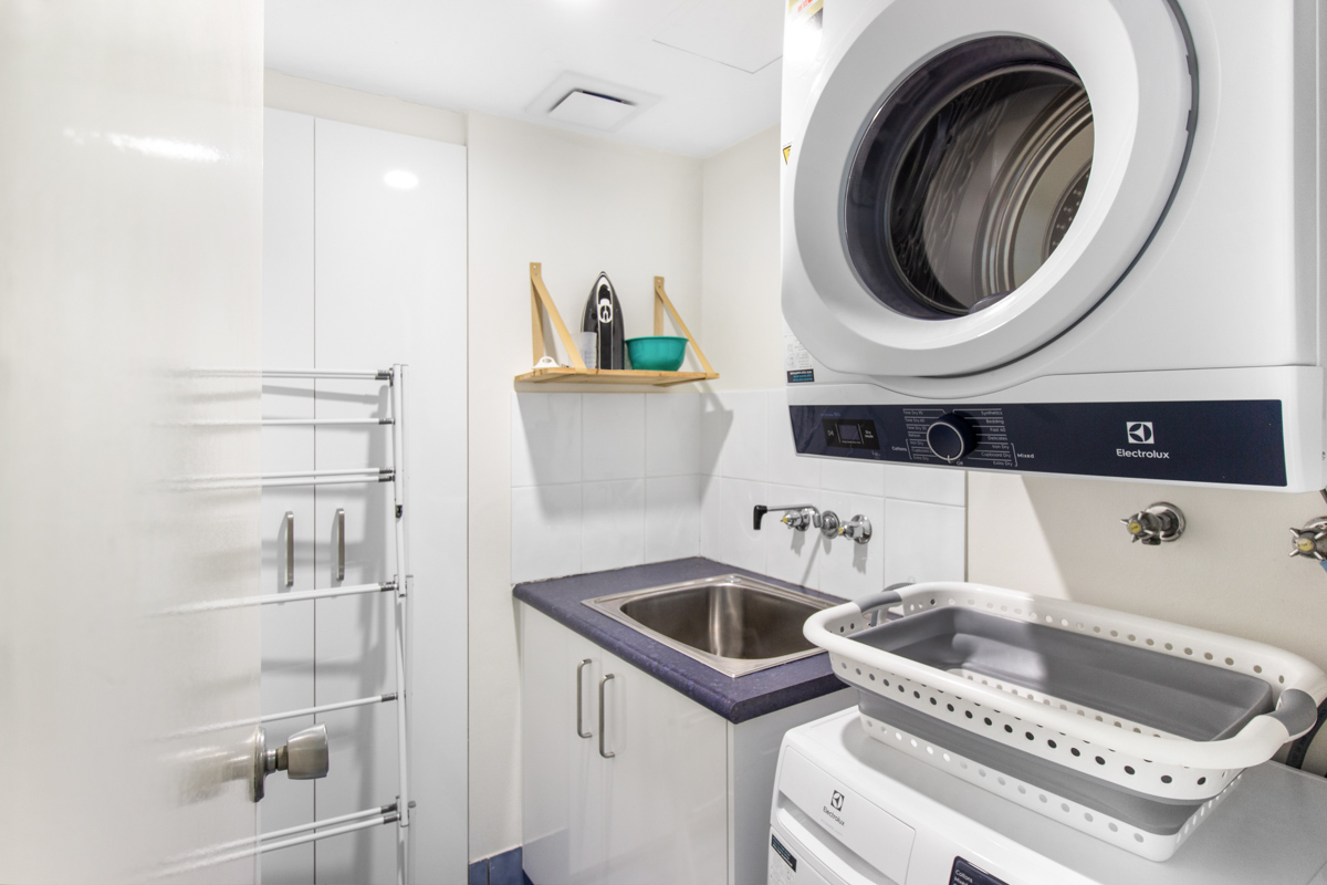 Boulevard Towers Broadbeach accommodation laundry
