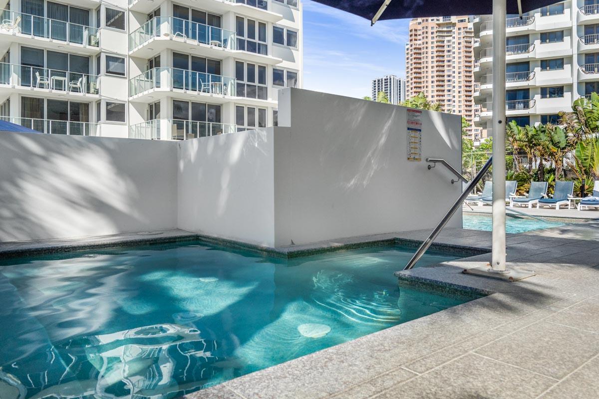 Gold Coast accommodation sauna